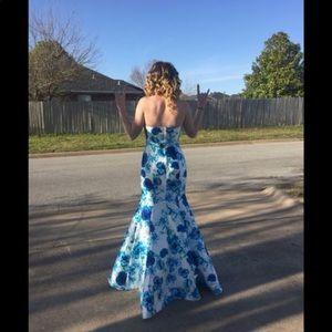 Mermaid Prom/Homecoming dress